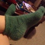 Courtney finished her socks!!!!