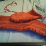 Progress on sock #2